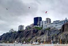 Visitando la Costa Verde,  en Lima