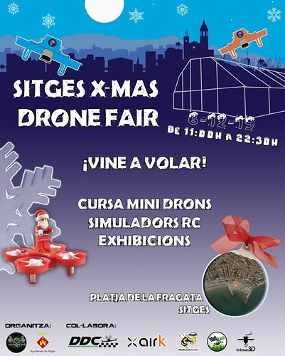 Sitges Xmas Drone Fair 2019  Feria drones Sitges 2019