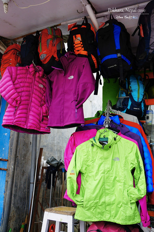 2014 Nepal Pokhara North Face Shop