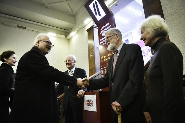 29.11.2019. Valsts prezidents Egils Levits ar dzīvesbiedri Andru Leviti apmeklē Latvijas Okupācijas muzeju