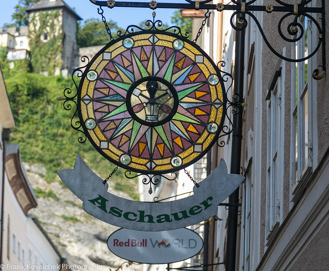 Wandering around Salzburg