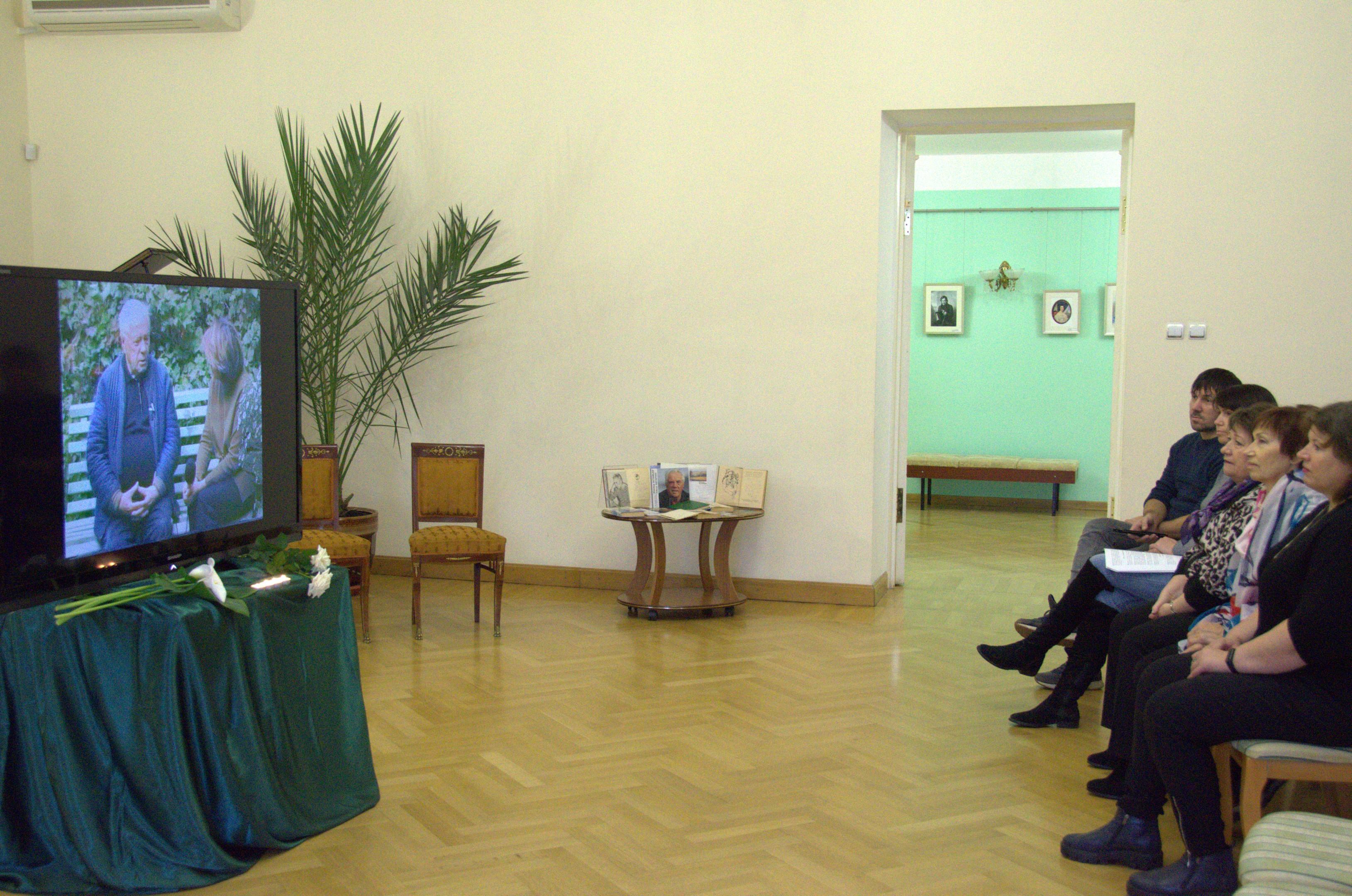 День памяти Виктора Петровича Астафьева в «Тарханах» 29 ноября 2019 года.