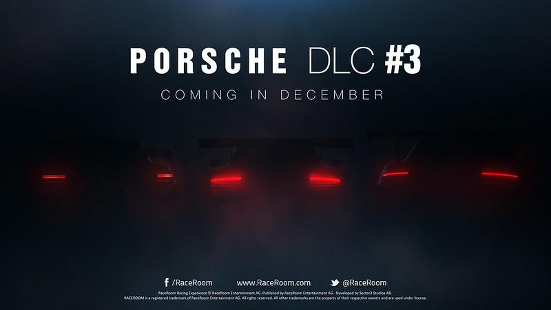 RaceRoom Porsche DLC 3 Announced