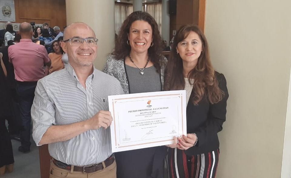 2019-11-29 SALUD: Premio Provincial Calidad Zona Sanitaria V