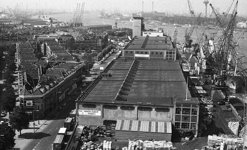 Fenixloodsen Rotterdam ca. 1965