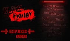 ═╬ Impulse ╬═ Black Friday Mega Sale!!! CONTEST!!