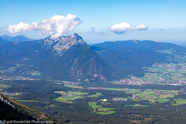 Views from the top of Untersberg, near Salzburg