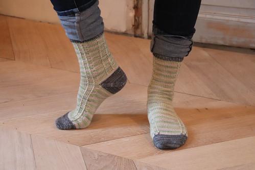 Scrap'n'Stripes socks