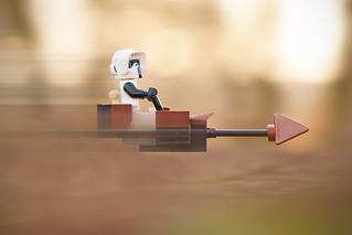 LEGO Scout Trooper and Speeder Bike