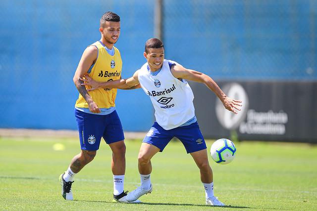 Treino Grêmio 29/11/19