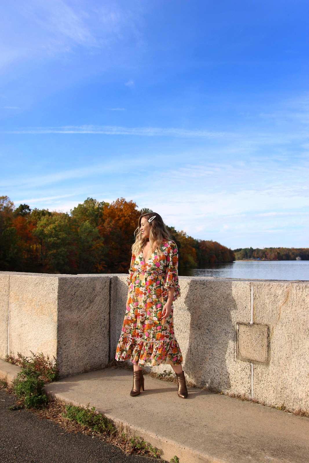 Kensico Dam Reservoir Valhalla Fall Foliage Most Instagrammable Places in Westchester County New York