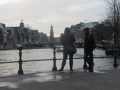 A wet day in Amsterdam