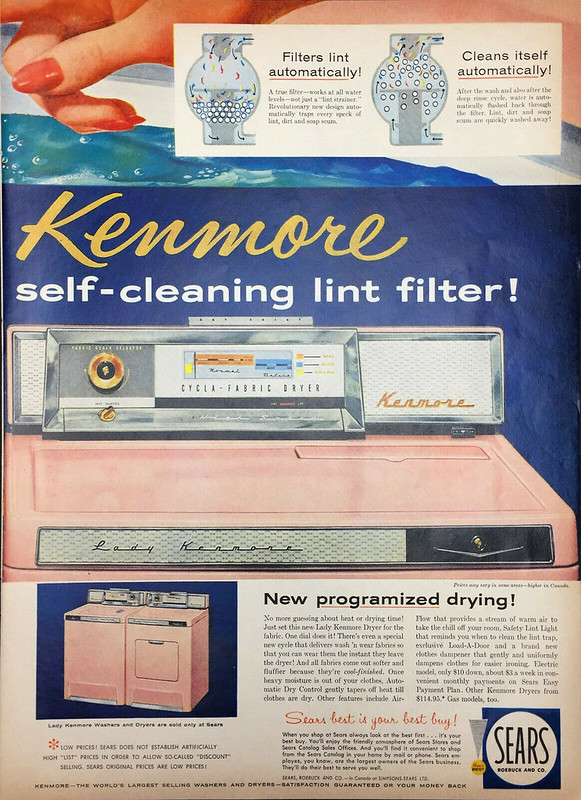 Sears Lady Kenmore 1958