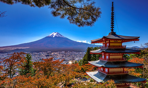 chureitopagoda japan mountfuji