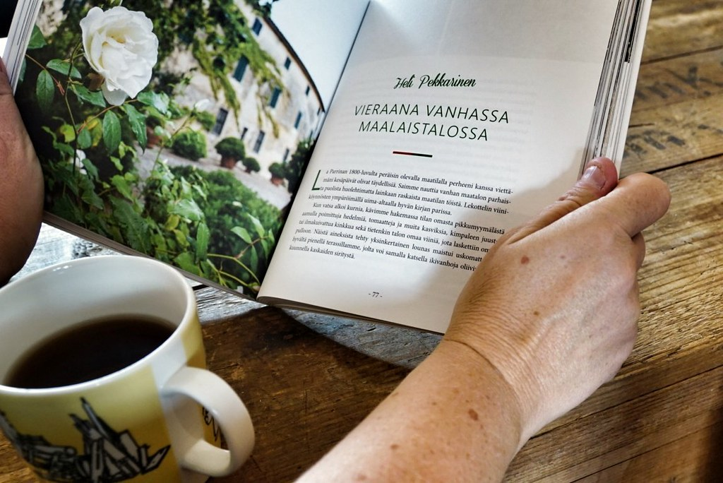 Luen omaa juttuani Vaelluksia Italiassa -kirjasta