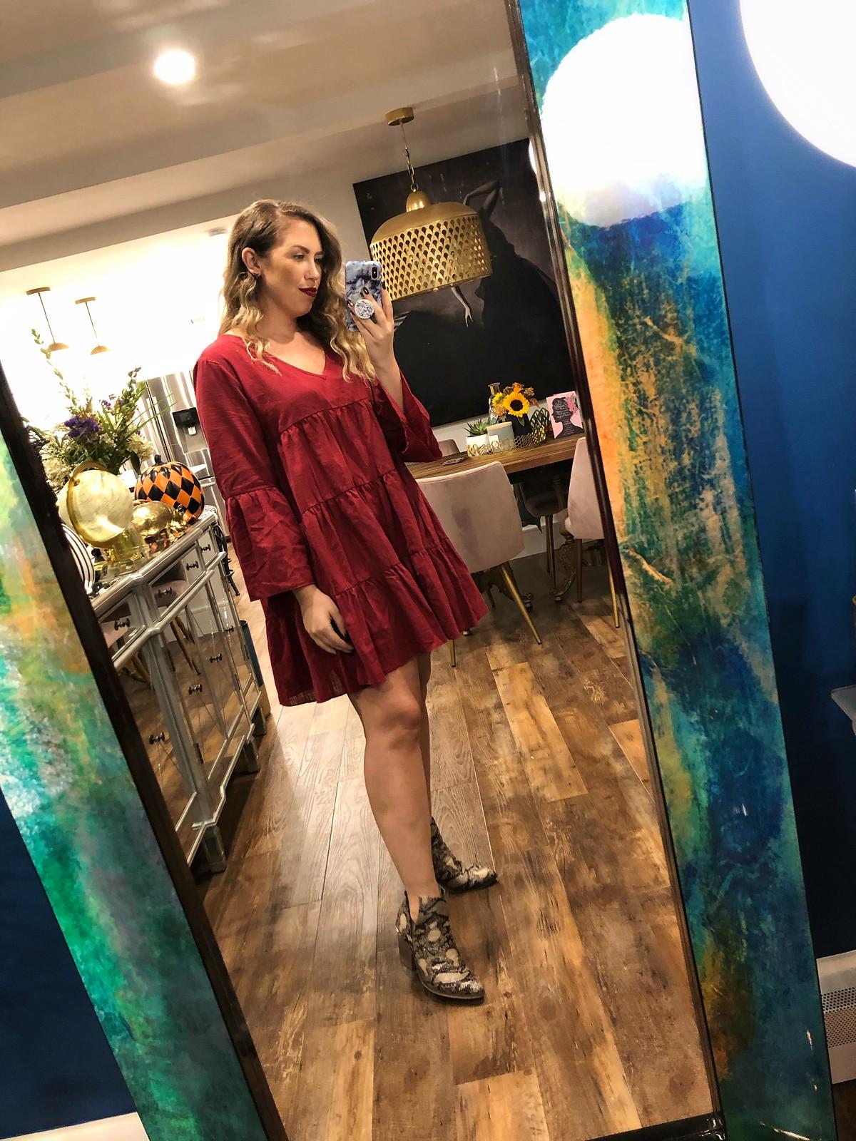 SHEIN Babydoll Dress