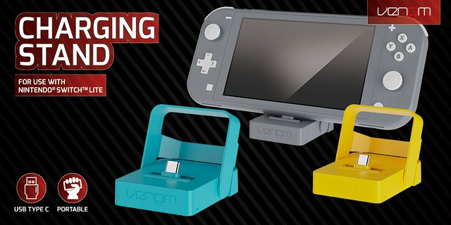 Venom_Social-Media_Nintendo Switch Lite_Charging Stand_1024X512