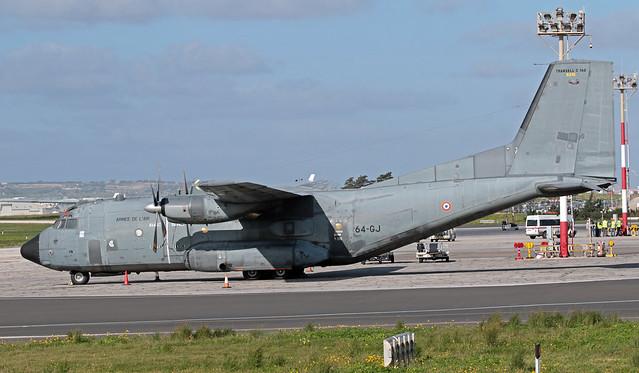 R210 LMML 29-11-2019 France - Air Force Transall C-160R CN 213