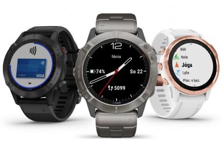 Garmin fénix6: Laboratoř na ruce aneb jsou to ještě hodinky?