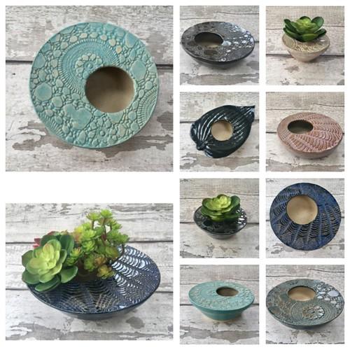 Succulent pots and ikebana bowls