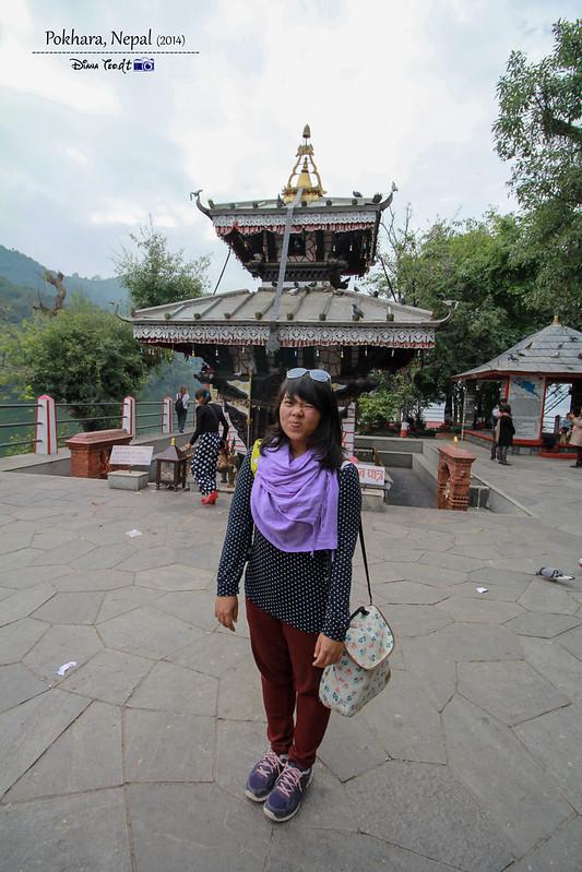 2014 Nepal Pokhara Tal Barahi Temple 2