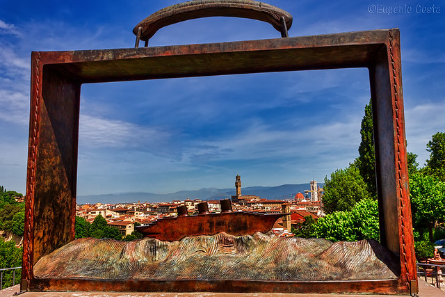 Mi son messo Firenze in valigia.... - I put Florence in my suitcase ...