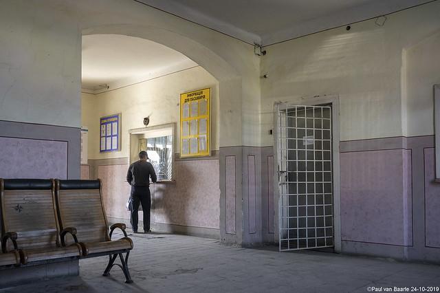 Vynohradiv (Виноградів) station, 24-10-2019