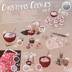 ELM. Christmas Cookies Vol. 1 for THE ARCADE!