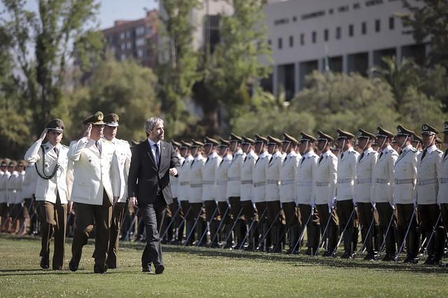 Ceremonia de egreso Escuela de Oficiales. 29.11.19
