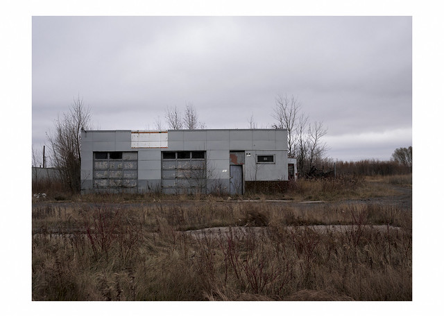Abandoned commercial building, Superior, Wisconsin
