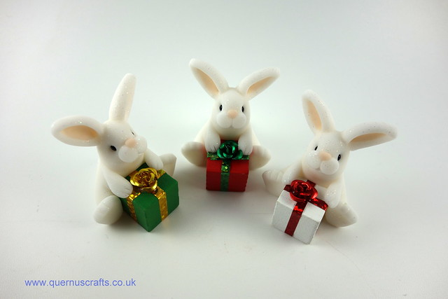 Little Bunnies with Gifts