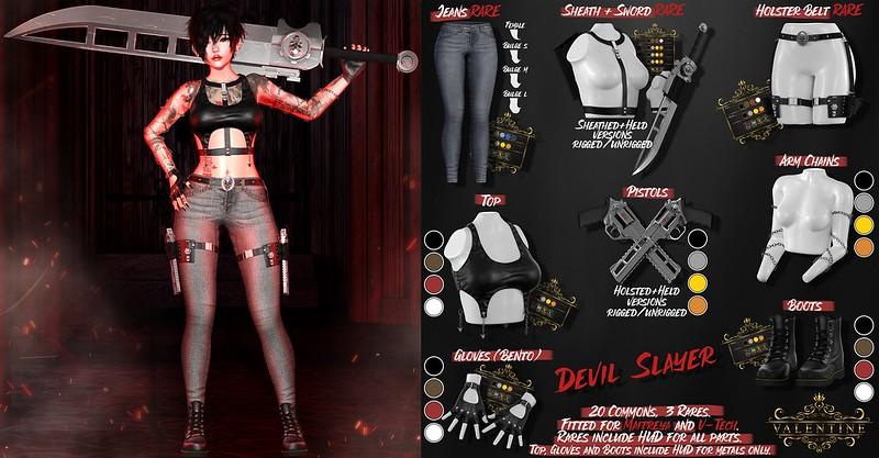 {Valentine}Devil Slayer - Gacha @ Arcade