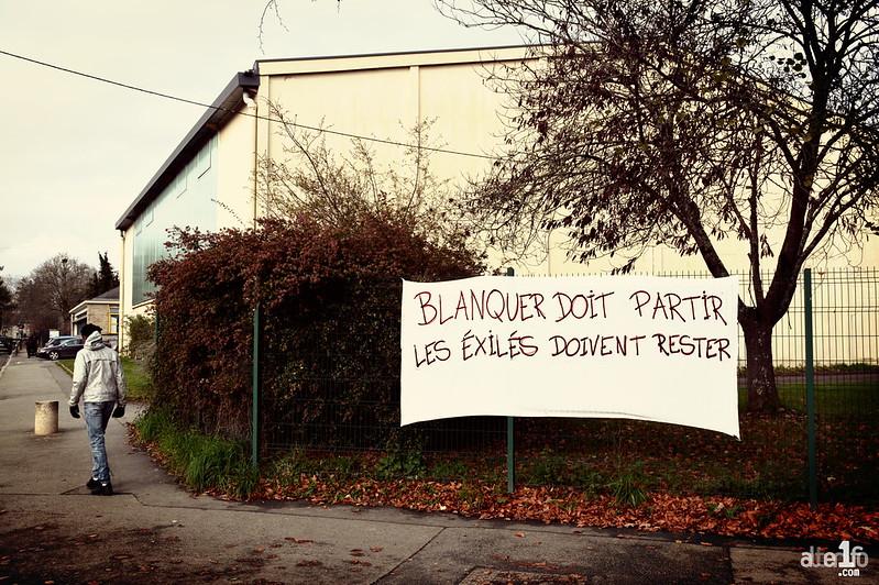 [29 Novembre 2019] – Un jour, une photo : « Blanquer doit partir, les exilés doivent rester »