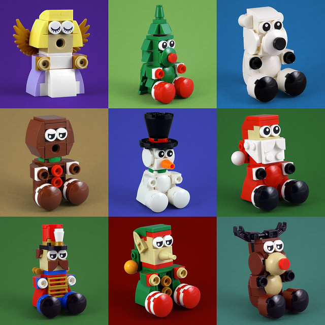 LEGO christmas characters toys
