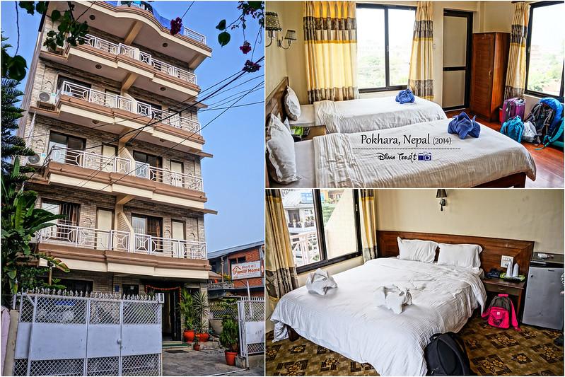 2014 Nepal Pokhara Hotel Family Home 1
