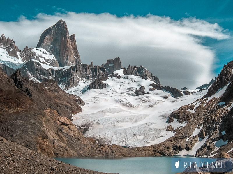 Laguna Los Tres, uno de los principales trekkings de El Chaltén