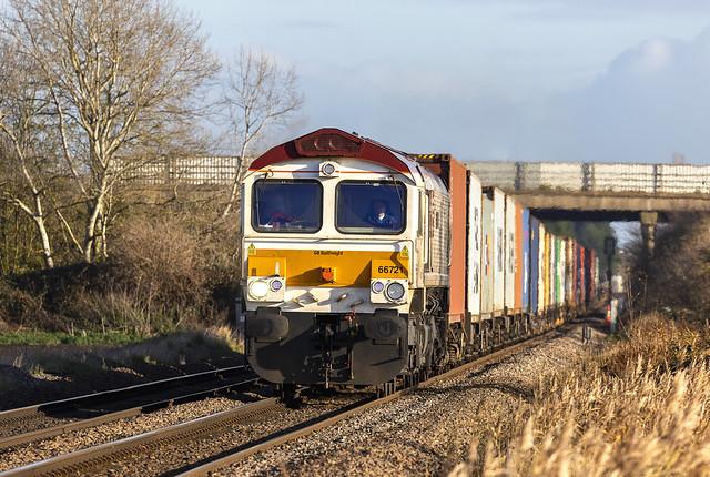 GBRf Class 66/7 No. 66721 'Harry Beck'