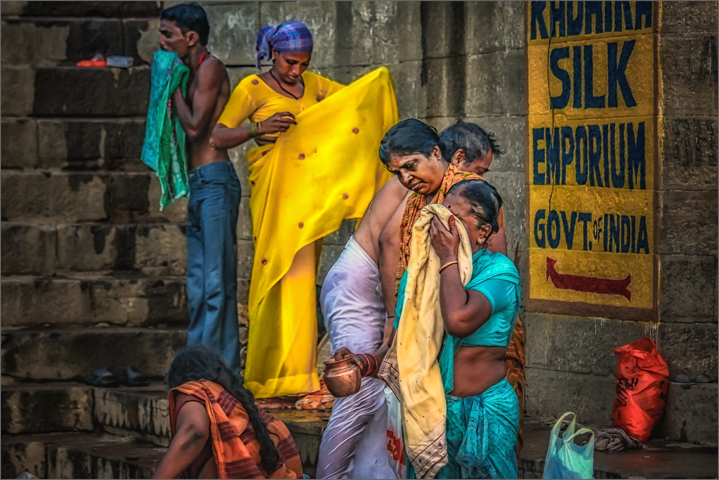 Morning Rituals at the Ganges River #10