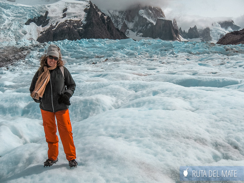 Caminata sobre el Glaciar Torre