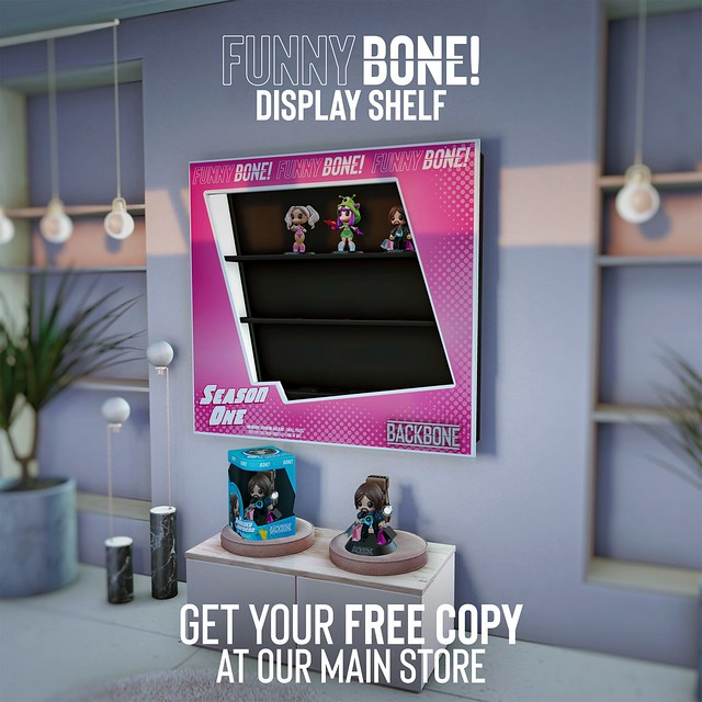 BackBone FunnyBone Display Shelf