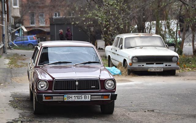 1978 Toyota Chaser 1.8 EFI (JDM) & GAZ 24-10 Volga