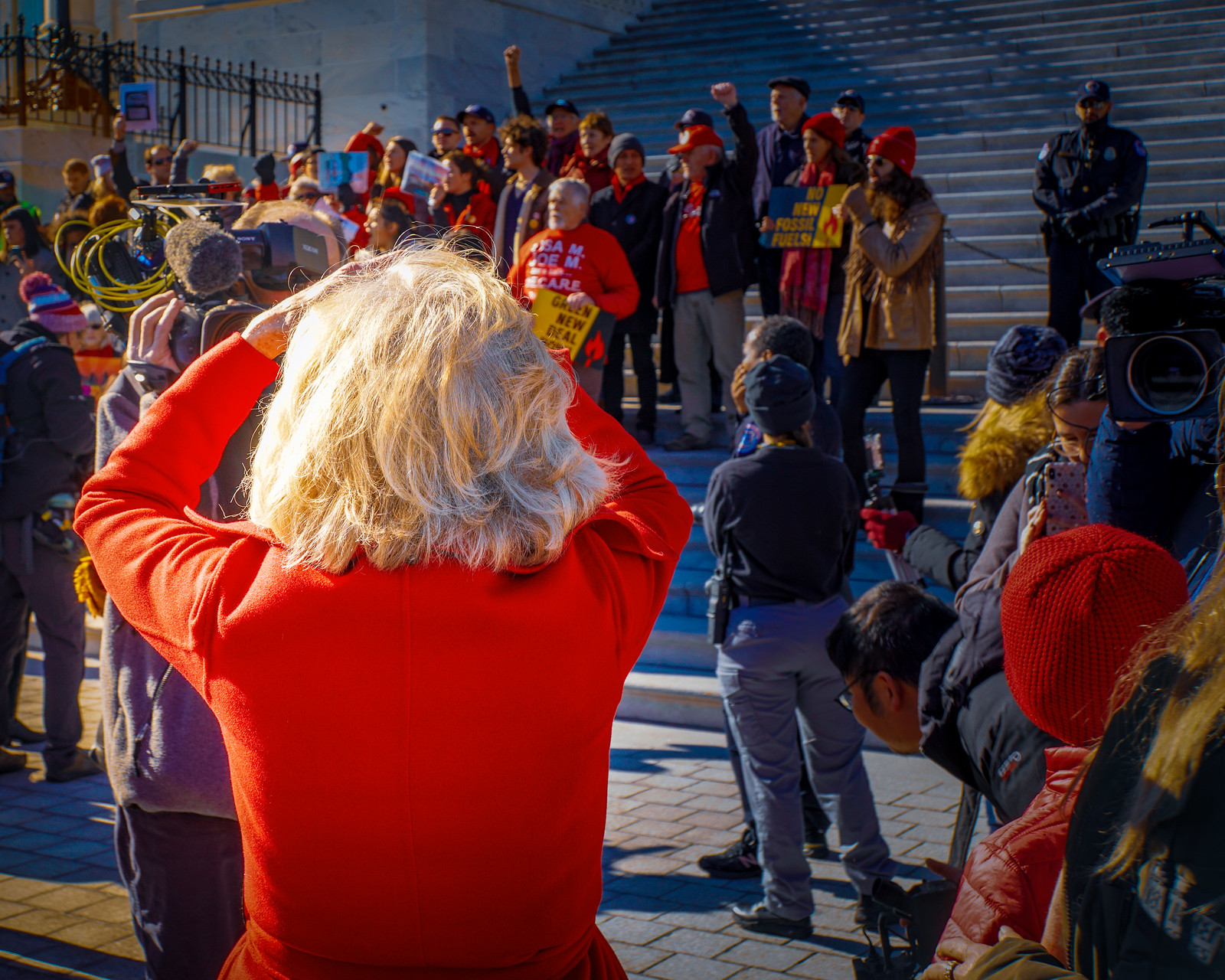 Photo Friday: Fire Drill Friday with Jane Fonda, Washington, DC USA