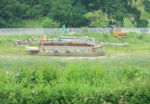 Derelict Boat from Elcho Castle 1