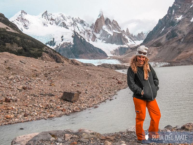 Laguna, Glaciar y Cerro Torre