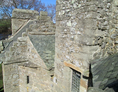 Roofs, Elcho Castle