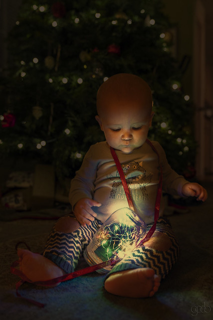 Archie's first Xmas