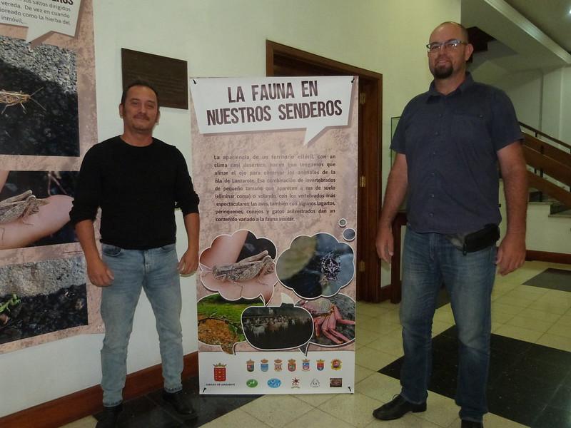 Exposición La Fauna de Nuestros Senderos