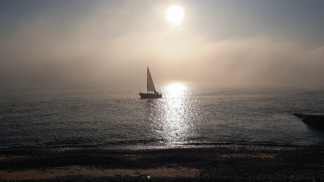 20191022_172053 Sunset Le Havre beach