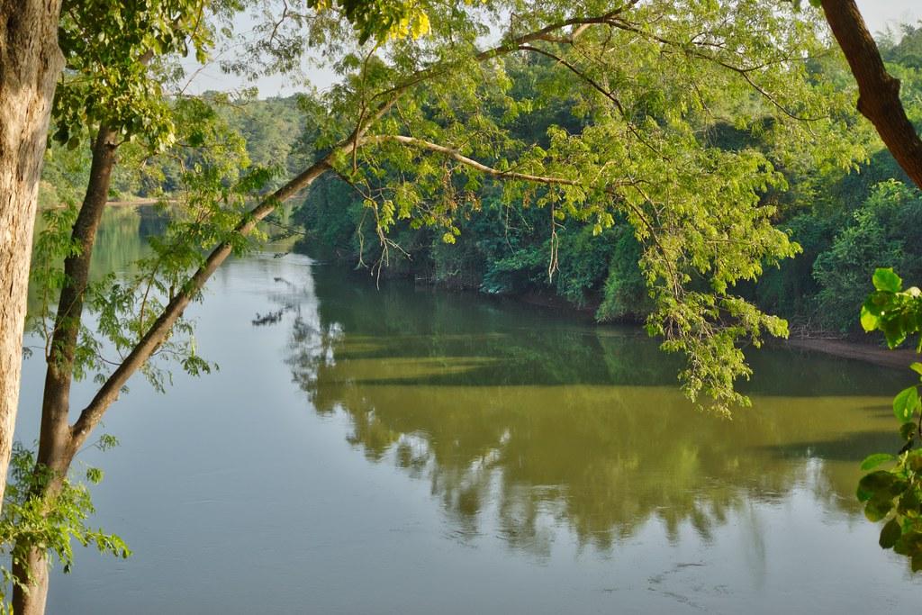 River Kwae Noi passing Prasat Muang Singh in Kanchanaburi province, Thailand