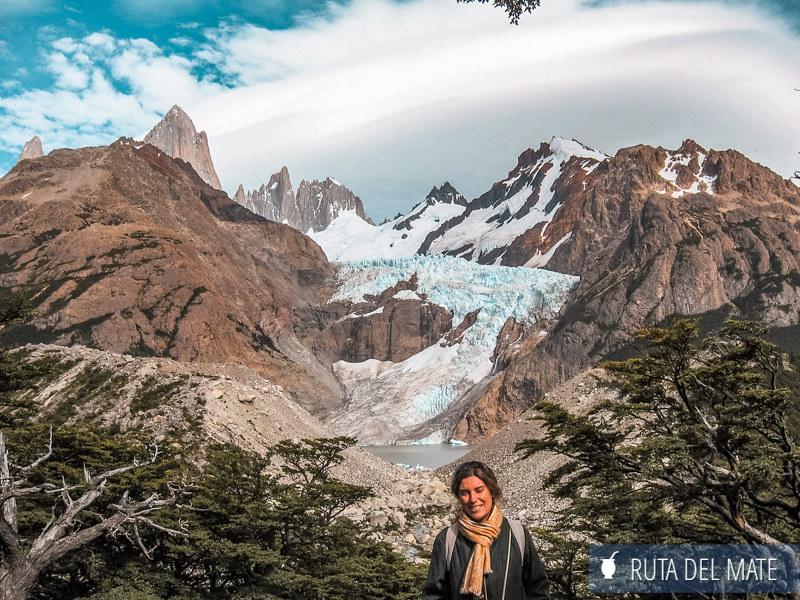 Glaciar Piedras Blancas en el Chaltén